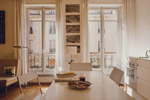 one room apartment, altbau