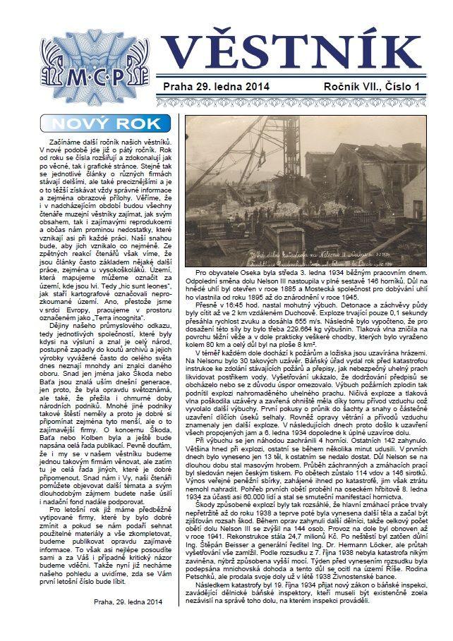 Věstník MCP 2014/1 (Závody AGA / AGAWERKE AG)