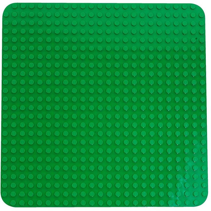 """LEGO DUPLO Basic Building Large Green Plate 2304 