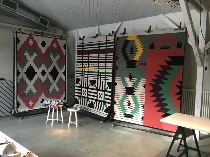 Dare to Rug *Mellow* *Ecstatic* and *Ironic* rugs @ Simbio Kitchen and Bar in Bucharest, Romania.   #daretorug #daretodesign #interiordesign #handtuftedrug #rug #carpet #design #inspiration