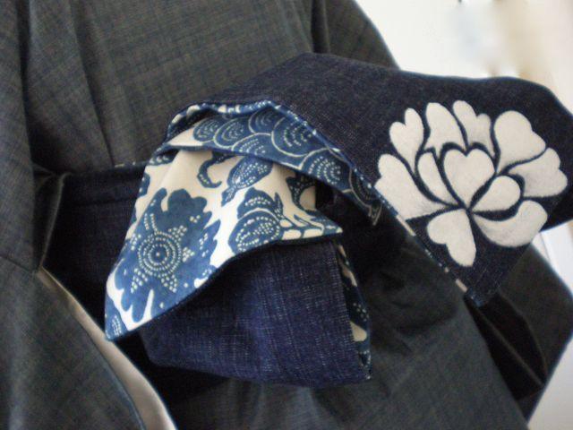 大人可愛い☆半幅帯の結び方 大人可愛い普段着物の通販 | KIMONO MODERN-シンプル&モダンでお洒落な着物・浴衣・帯