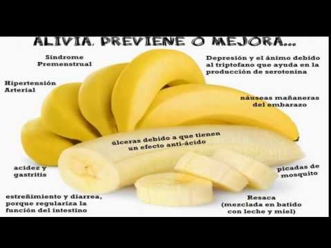 Los plátanos no engordan! Conoce 10 beneficios que obtienes por comerlos