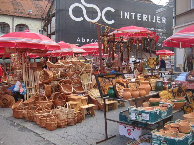 クロアチア市場 クロアチア クロアチア旅行 市場