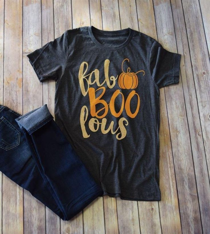 Faboolous T Shirt (With images) Fall shirts, Halloween