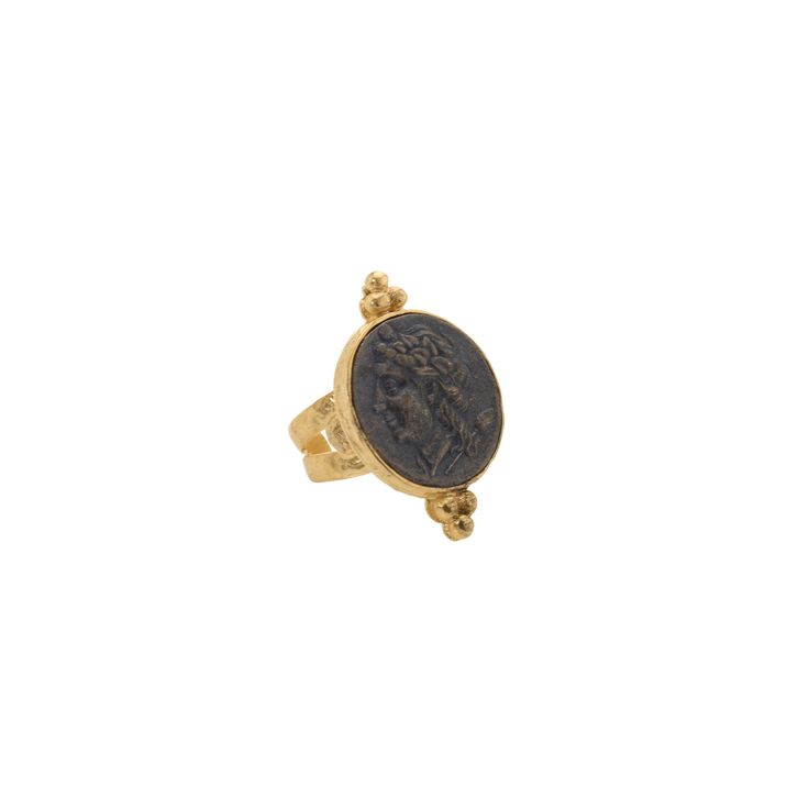 Coin Ring Gold