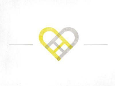 A+D Wedding Logo  by Dan Shearin: Logos Geniais, Cool Logos, Design Logos Branding, A D Logos, Wedding Logos