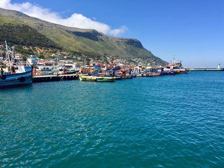 Der Hafen von Kalk's Bay.
