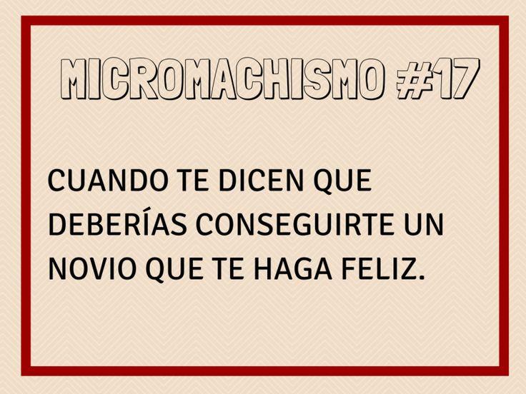 Micromachismo #17