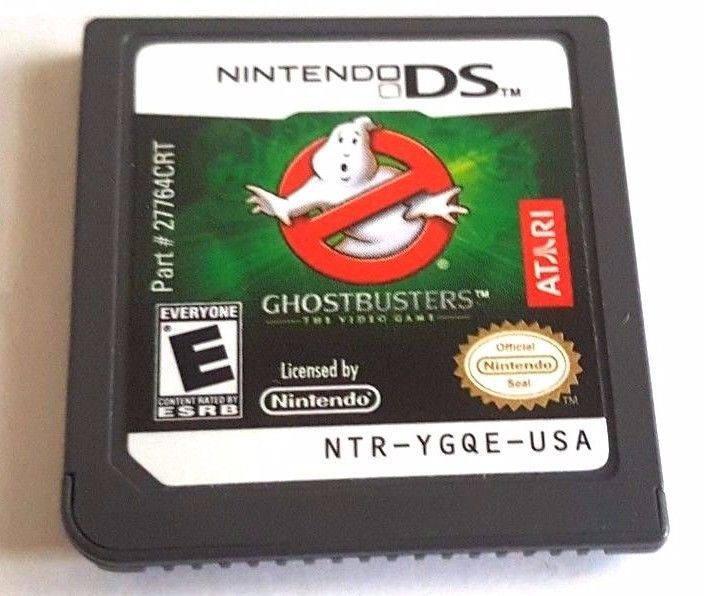 Nintendo DS Dsi Dsl 3DS 2DS ~ GHOSTBUSTERS THE VIDEO GAME ~ GHOST BUSTERS Fun