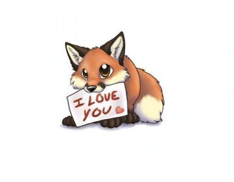 Image result for fox cartoon wallpaper | Cute animal ...