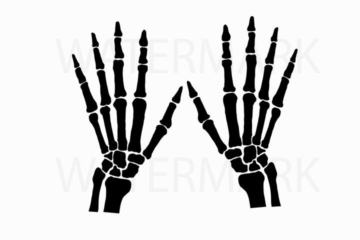 Skeleton Hand Left And Right Svg Jpg Png Hand Drawing 77383 Illustrations Design Bundles How To Draw Hands Illustration Design Skeleton Hands