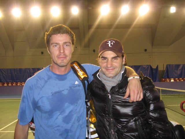 2009 - Marat Safin and Roger Federrer