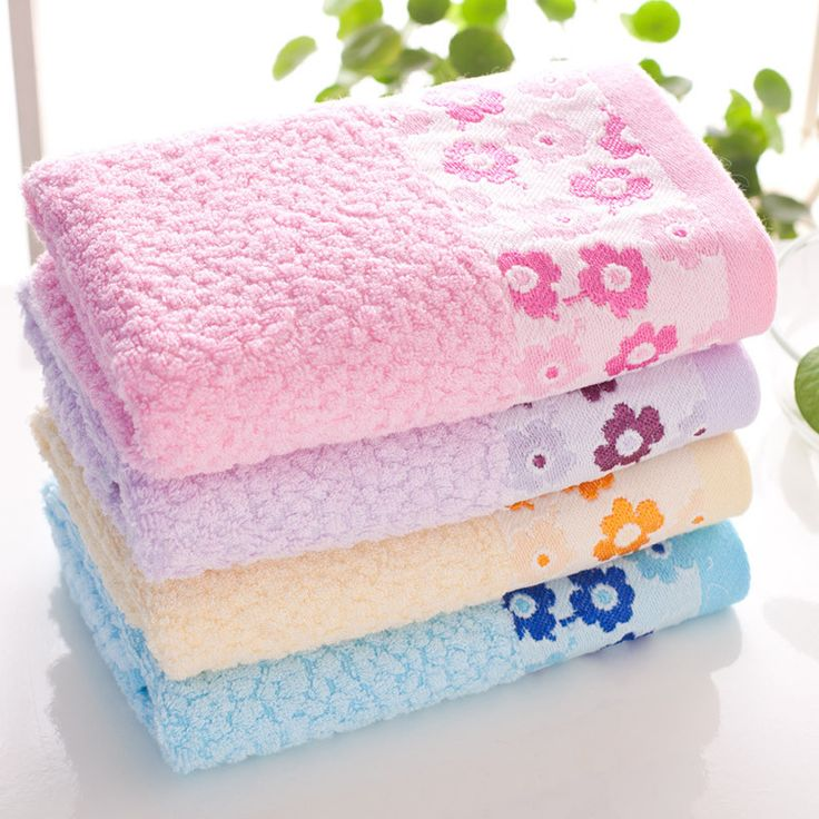 New bamboo face towels wholesale hair towel for adults racks bathroom baby bamboo towels 33*75cm