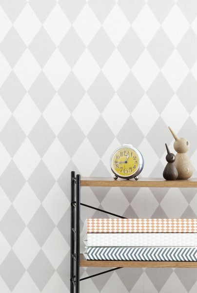 Grey wallpaper? Ferm Living Shop — Harlequin (Gray) Wallpaper