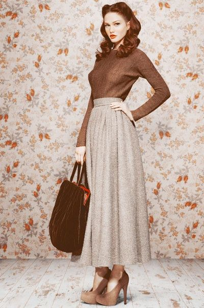 112 Best 40s Fashion Images On Pinterest