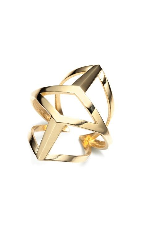 """MO Exclusive: Eddie Borgo """"Edie"""" Ring $275"""