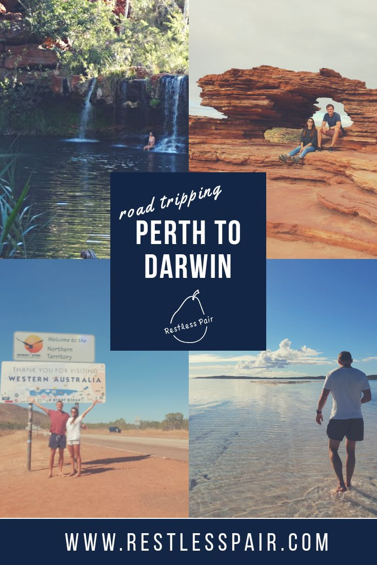 Road tripping from Perth to Darwin