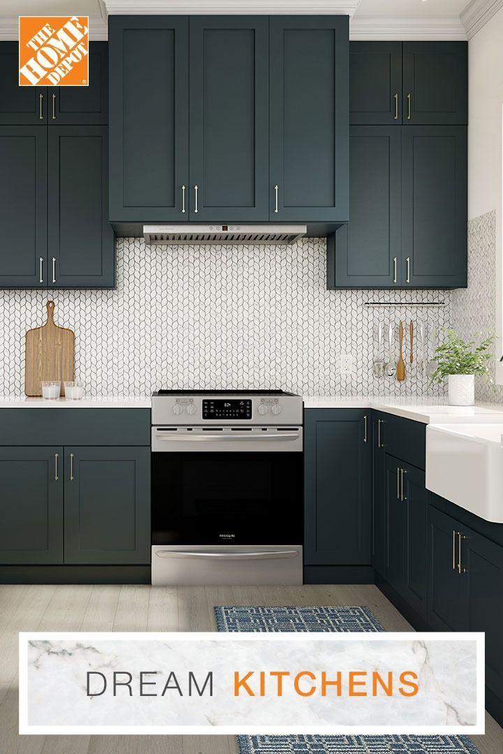 Dream Kitchens For Every Budget Home Depot Kitchen Rustic Kitchen Design Interior Design Kitchen