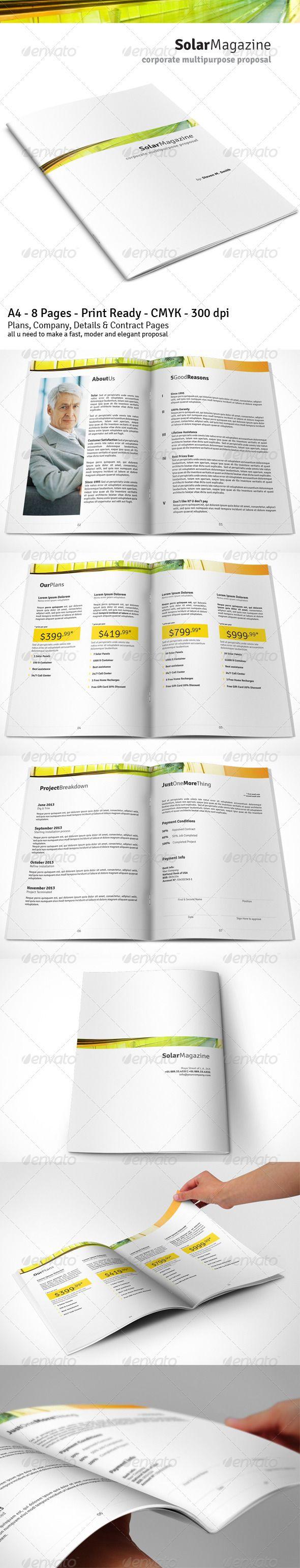 17 best ideas about Sales Proposal on Pinterest   Report design ...