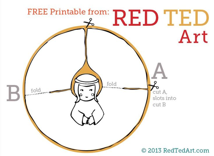 Template Free Topper Angel Tree Printable