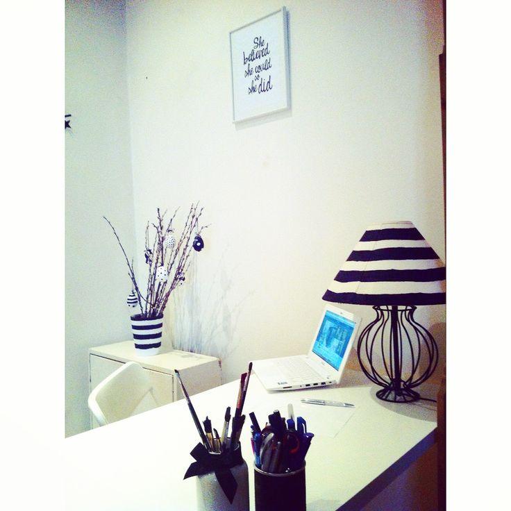 Working on the blog http://ladiy.cafeblog.hu/ #diy #blackandwhite #home #myhome #mancave #womancave #interior #decor
