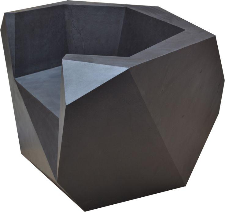 Gunjan Gupta, Rock Throne   2013 Limited edition of n.5, Internal structure in plywood, outer cover in stone, W 119,38 x D 71,12 x H 157,48 cm, Country of Realization - India #gunjangupta #rock #throne #limitededition #plywood #stone #madeinindia #indiandesigner #india #erastudioapartmentgallery #erastudio #gallery #design #interiordesign #milan #italy