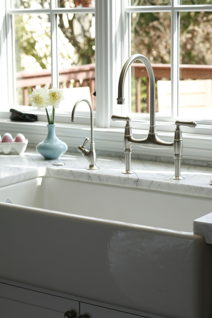 Rohl Farmhouse Sink : Rohl farmhouse sink and faucet Home is where the heart is Pintere ...