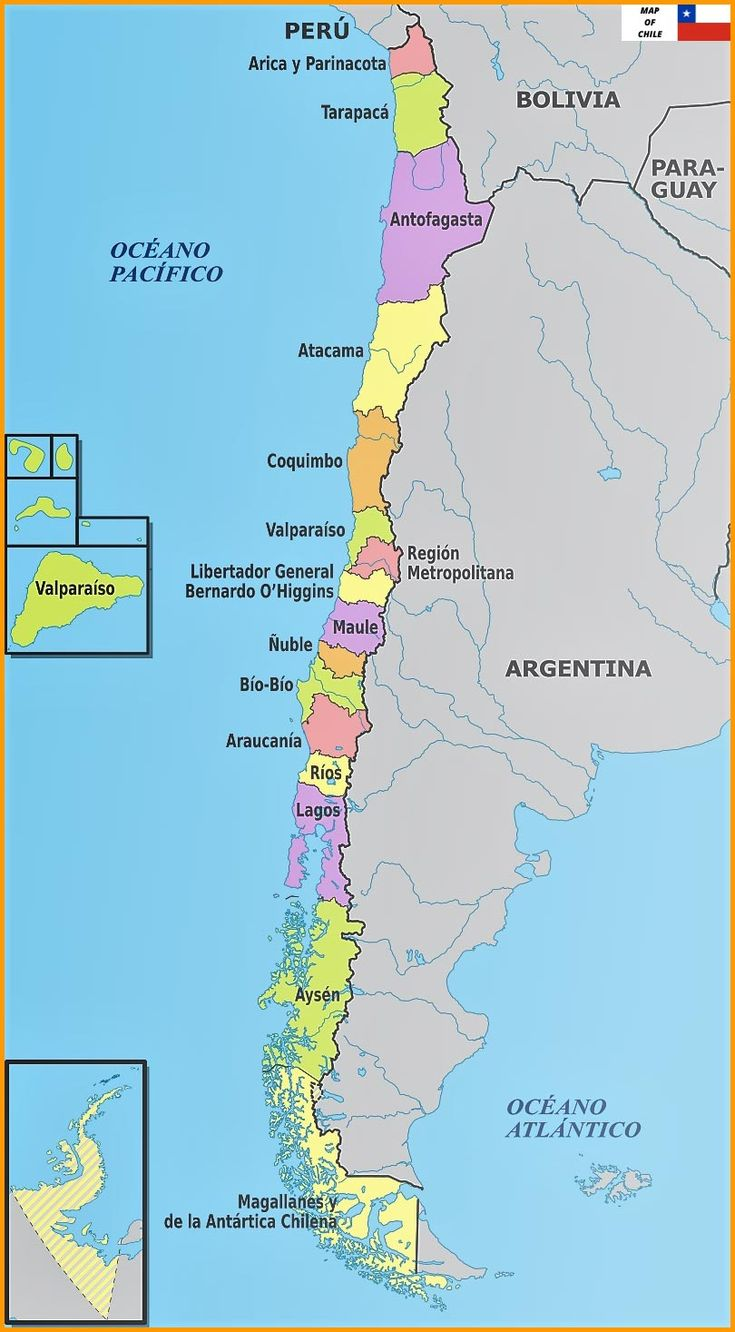 Maps Of Chile Complete Colection Of Maps Of The World C Map Cartography Map Chile