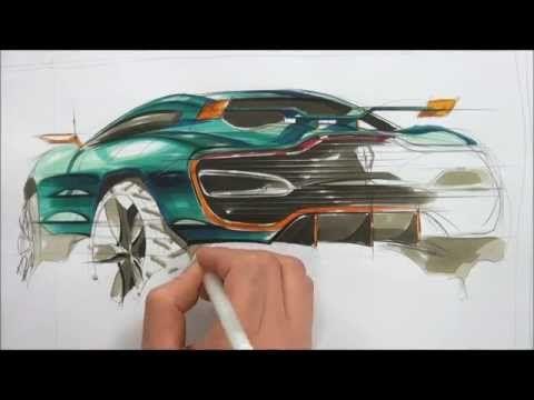 car sketch - YouTube