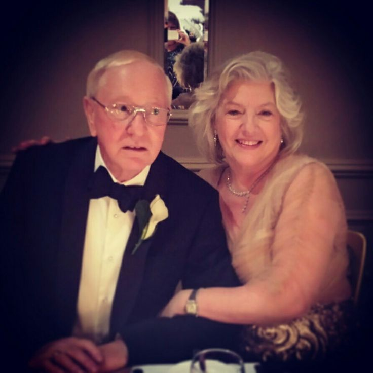 Parents of the bride, black tie wedding