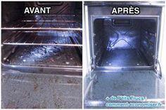 Nettoyer un four sans produit chimique