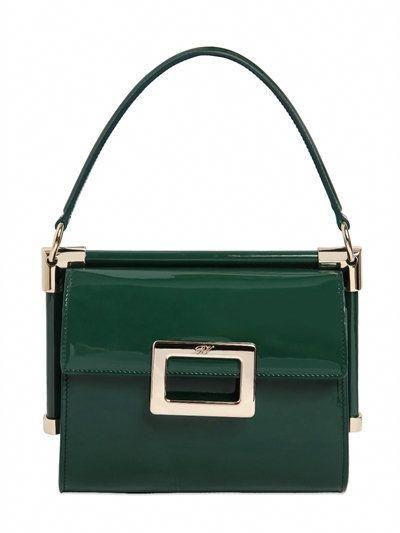 ROGER VIVIER Mini Miss Viv Patent Leather Bag 32e72f3158c69