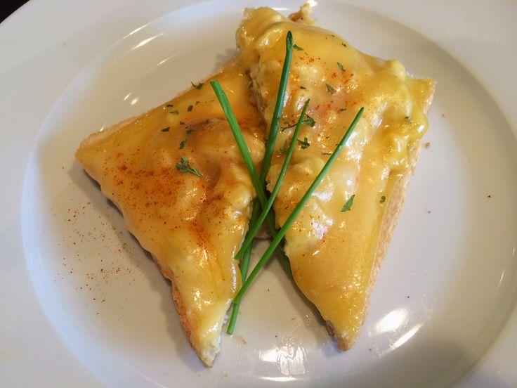 Broodje met verstopt ei