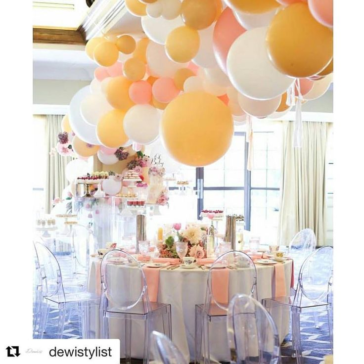 Baby Shower styling at our venue