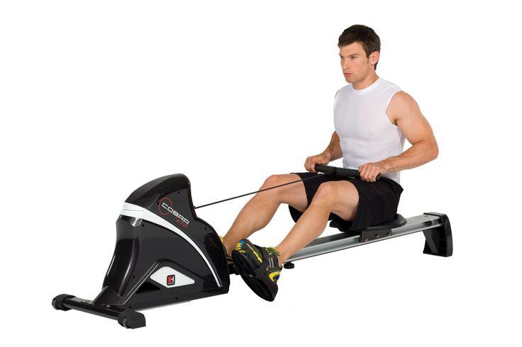 Hammer Cobra XTR roeitrainer  Description: COBRA XTRDe HAMMER Cobra XTR is voorzien van een duurzaam magneet-remsysteem voor een soepele beweging en vooral realistische herhalingen. De computer is voorzien van een groot scherm en kan voor u de weerstand wijzigen. U kunt fitnessprogramma's selecteren en de roeier is voorzien van een ontvanger voor draadloze hartslagmeting (borstband niet inbegrepen).Verdere voordelen:10 weerstanden direct te wijzigen via de computerBeweegbare voetplaten - in…