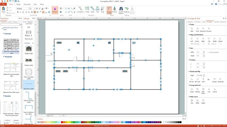 How to Create a Network Layout Floor Plan