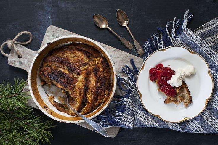 Brödpudding med julsmak: http://martha.fi/sv/radgivning/recept/view-93381-5264