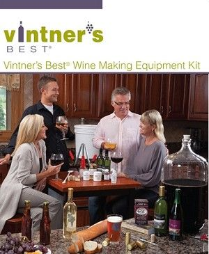 Deluxe Vintner's Best Wine Making Equipment Kit--BEST KIT. HAS EVERYTHING YOU NEED