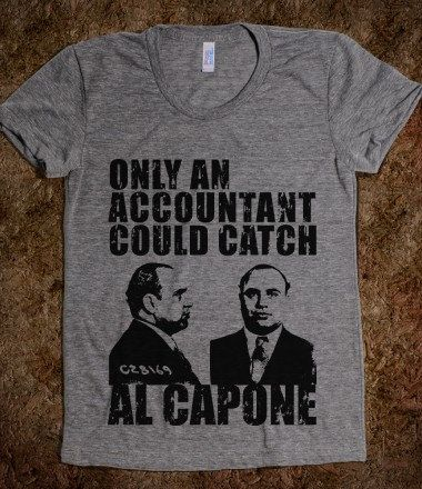 Accountants are Gangsta and I think I need this shirt.