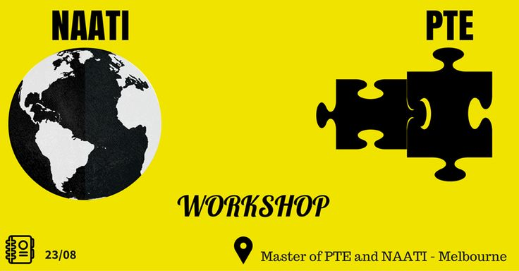 Want tips from a real 90 scorer in the PTE test? The Master is proud to present #NAATI and #PTEworkshop. You can contact with us at our website.