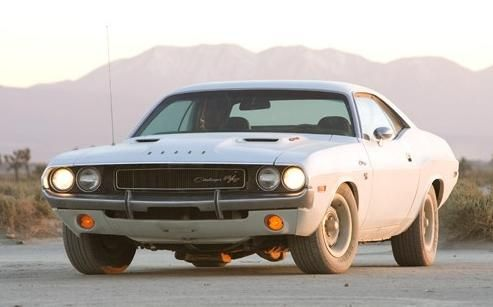"Cinematic cars: 1970 Dodge Challenger R/T from ""Vanishing Point"" (1971) 