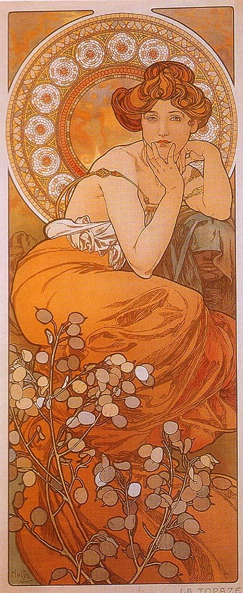 Alphonse Mucha | Oil Painting Reproductions - Oil Painting on Canvas Artist Reproductions