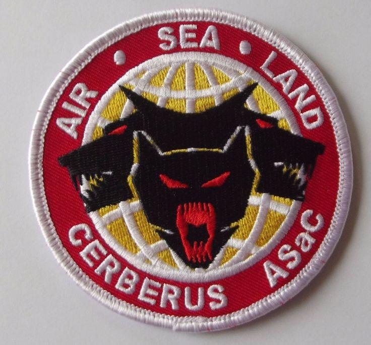 AIR - SEA - LAND , CERBERUS ASaC PATCH