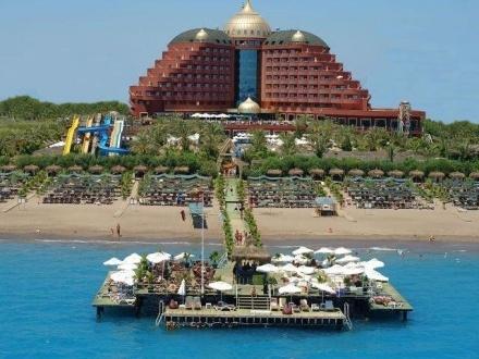 Delphin Palace De Luxe Collecion - Tatil Merkezi