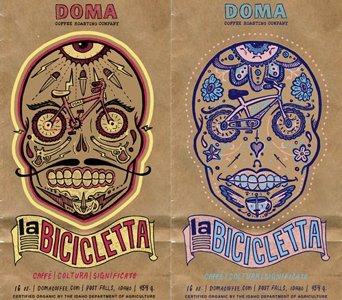 """La Bicicletta"" from domacoffee.com  (via this isn't happiness on tumblr)"