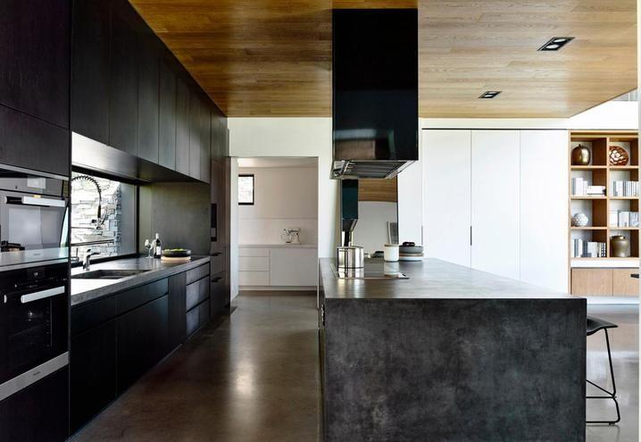 Una villa moderna a Melbourne: Concrete House