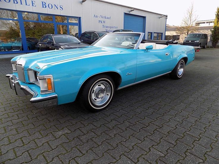 Ford Mercury Cougar XR 7 Cabrio 351 CUI