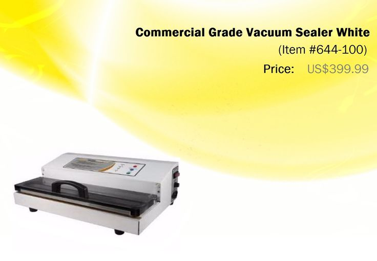 Explore the New Range of Commercial Vacuum Sealer