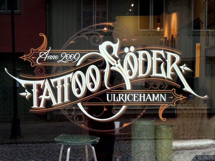 Tattoo Söder window by Martin Schmetzer
