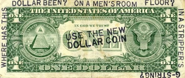Promoting the Golden Sacagawea Dollar